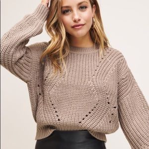 Dynamite cropped sweater